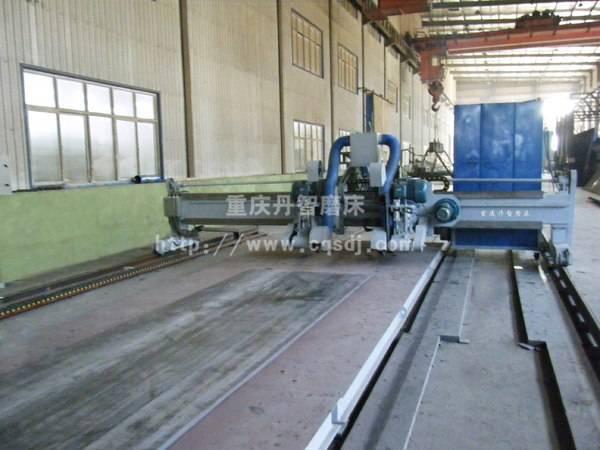 2M53250型大型平板砂带磨床