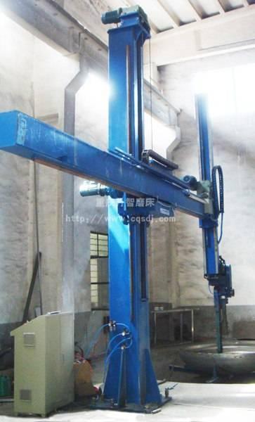 2M57系列大型容器砂带罐体抛磨机
