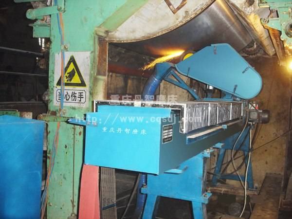2M51300A型下置式造纸现场烘缸砂带磨床